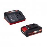 Kit Carregador Power-X 18V + Bateria reposição 18V 2Ah 30min