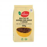 Bolitas de Quinoa  con Ágave y Cacao El Granero Integral 300 g