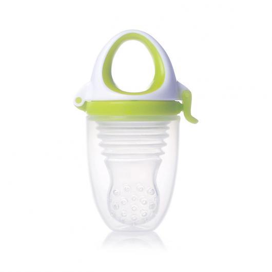 Alimentador Plus Silicona Kidsme 6m+, libre de BPA