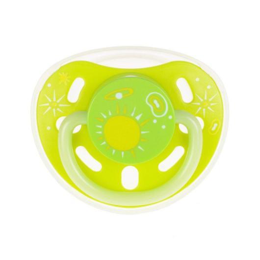 Chupete Brilla en la Oscuridad Kidsme 3 m+ Libre de BPA, Talla S
