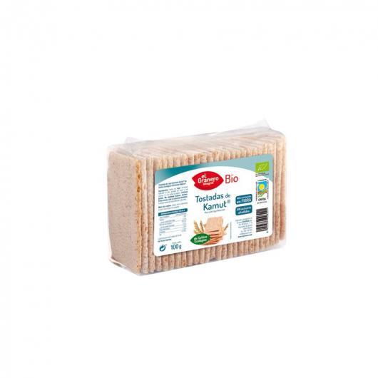Tostadas de Trigo Khorasan Kamut bio El Granero Integral, 100 g