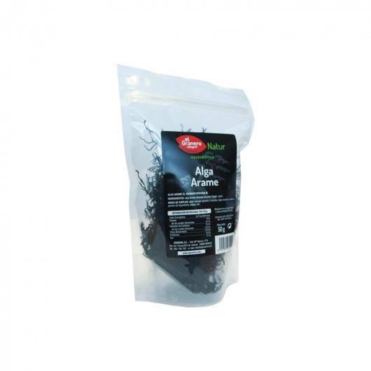 Alga Arame Japón  El Granero Integra, 50 g