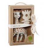 Pacco Sophie la Girafe + Ciuccio 100% gomma naturale