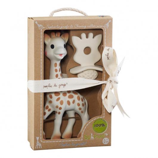 Pack Sophie la Girafe + Chupete 100% hevea natural