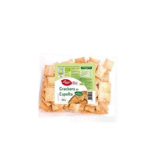 Crackers di Spelta con Sesamo bio El Granero Integral, 150 g