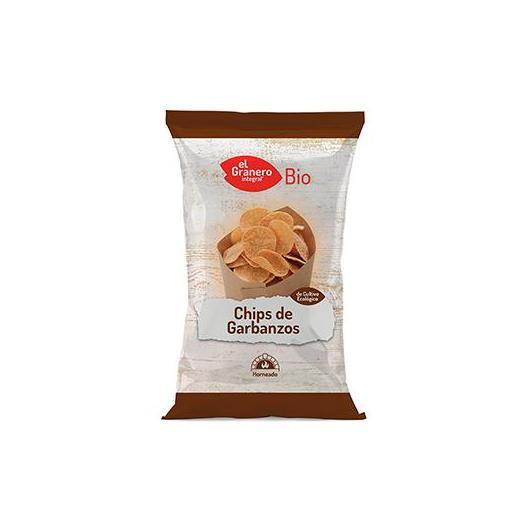 Chips de GArbanzos bio El Granero Integral, 80 g