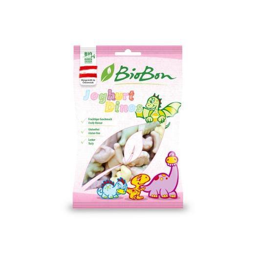 Gominolas Dinos Yogur Bio Bon, 100 gr