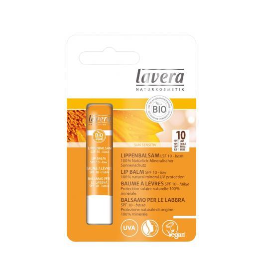 Bálsamo labial Sun Sensitiv FP10 Lavera, 4.5gr