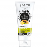 Gel doccia Limone, Papaya e Aloe Vera Fresh Sante, 200ml