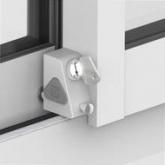 Sistema di blocco interno per porte scorrevoli