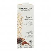 Latte di avena con cacao, Amandin 1L