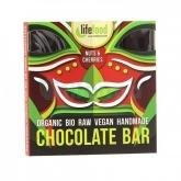 Cioccolato BIO con noci e ciliegie 35 g, Life Food