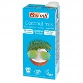 Bevanda di cocco con calcio e poco zucchero Ecomil, 1L
