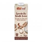 Bevanda di farro, riso, nocciola e avena Bio EcoMil 1L