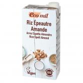 Bevanda di riso, farro e mandorla Bio Ecomil 1L