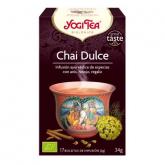 Yogi Tea BIO Chai dolce, 17 bustine