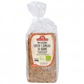 Pão crocante de espelta e gergelim ECO Natursoy, 200 g
