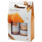 Kit cosmetica corpo rigenerante miele Delidea BIO, Santiveri