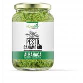 Pesto BIO com cánhamo e manjericão Holoslife, 130 g