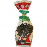 Babbo Natale di Cioccolato nero bio Chevaliers D'Argouges 60 g