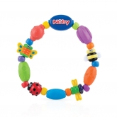 Mordicchio morbido e rigido Bug-a-Loop 4m+ Nuby 1 ud
