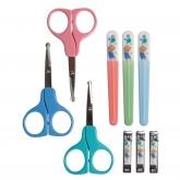 Set manicure: forbici, tagliaunghie e lima. 0m+ Nuby 1 pack