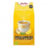 Yogi Tea BIO Limone e Zenzero, 17 bustine