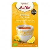 Yogi Tea BIO Detox con limone, 17 bustine
