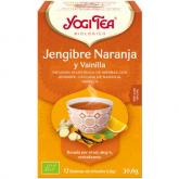 Yogi Tea BIO Zenzero Arancia e Vaniglia, 17 bustine