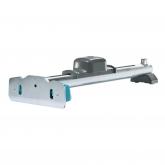 Dispositivo de tracção e martelar para a junção de piso laminado