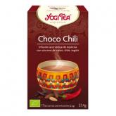 Yogi Tea BIO Chocolate Chili, 17 bustine