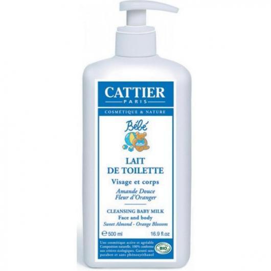 Leche Limpiadora para Bebé Cattier, 500ml.