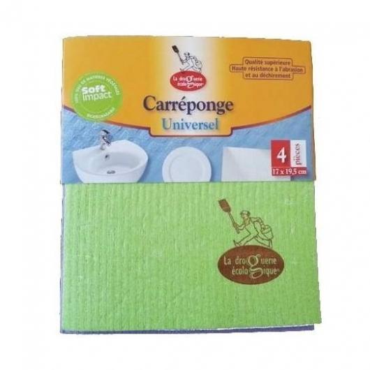 Lingette en cellulose/coton, 4 pièces
