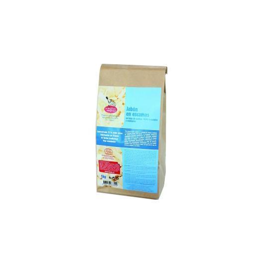 Scaglie di sapone vegetale eco, 1 kg