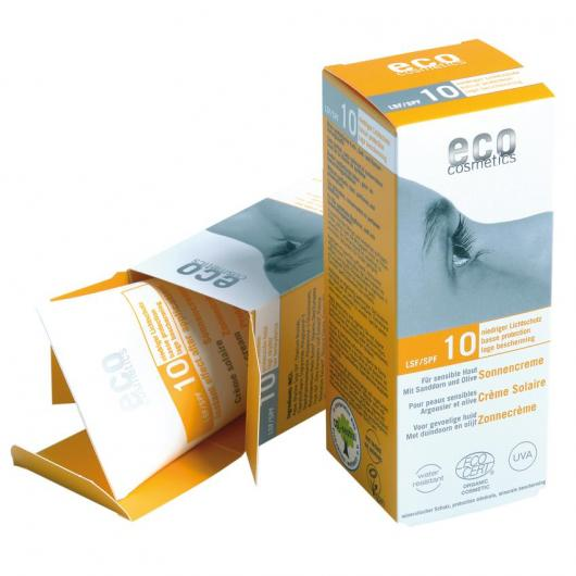 Protezione solare FPS 10 EcoCosmetics, 75ml