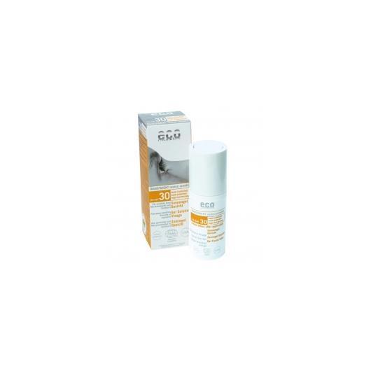 Gel solaire visage FPS 30 EcoCosmetics, 30 ml