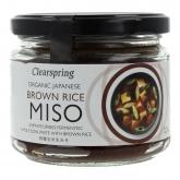 Genmai miso não pasteurizado, Clearspring, 300 g