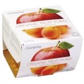Purea di mela e albicocca Clearspring, 200 g