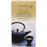 Genmaicha tè verde con riso tostato ECO Clearspring, 50 g