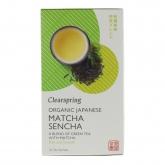 Tè verde matcha BIO Clearspring, 40 g