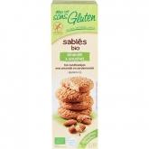 Biscotti con mandorle e cipero (chufa) senza glutine Ma vie sans gluten, 150 g