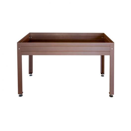 Table de culture laquée marron