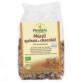 Muesli di quinoa e cioccolato Primeal, 375g