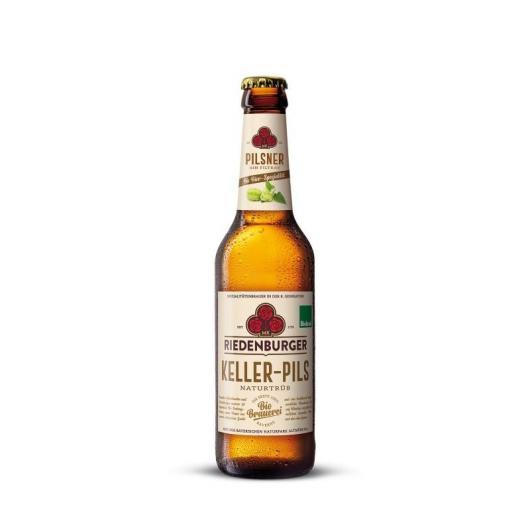 Bière Pilsner aromatisé au houblon Riedenburger, 33 cl