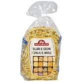 Spaghetti di curcuma e semi di papavero BIO Natursoy, 250 g