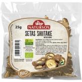 Funghi shiitake secchi BIO Natursoy, 25 g