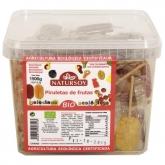 Scatola di lecca-lecca 5 gusti BIO Natursoy, 120 unità