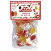 Caramelle all'acerola con vitamina C BIO Natursoy, 75 g