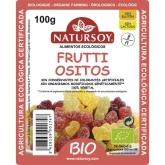 Orsetti gommosi alla frutta ricoperti di zucchero BIO Natursoy, 100 g
