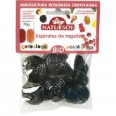 Rotelle di liquirizia BIO Natursoy, 75 g